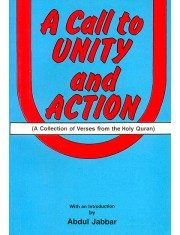 A Call To Unity and Action Abdul Jabbar