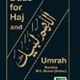 Duas for Hajj and Umrah Maulana M.S.Banoo