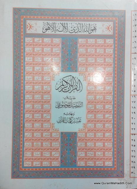 Arabic Quran Usmani Script – Arabic, Medium Size