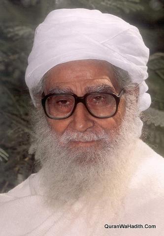 1343 AH: Maulana Wahiduddin Khan – مولانا وہیدددیں خان