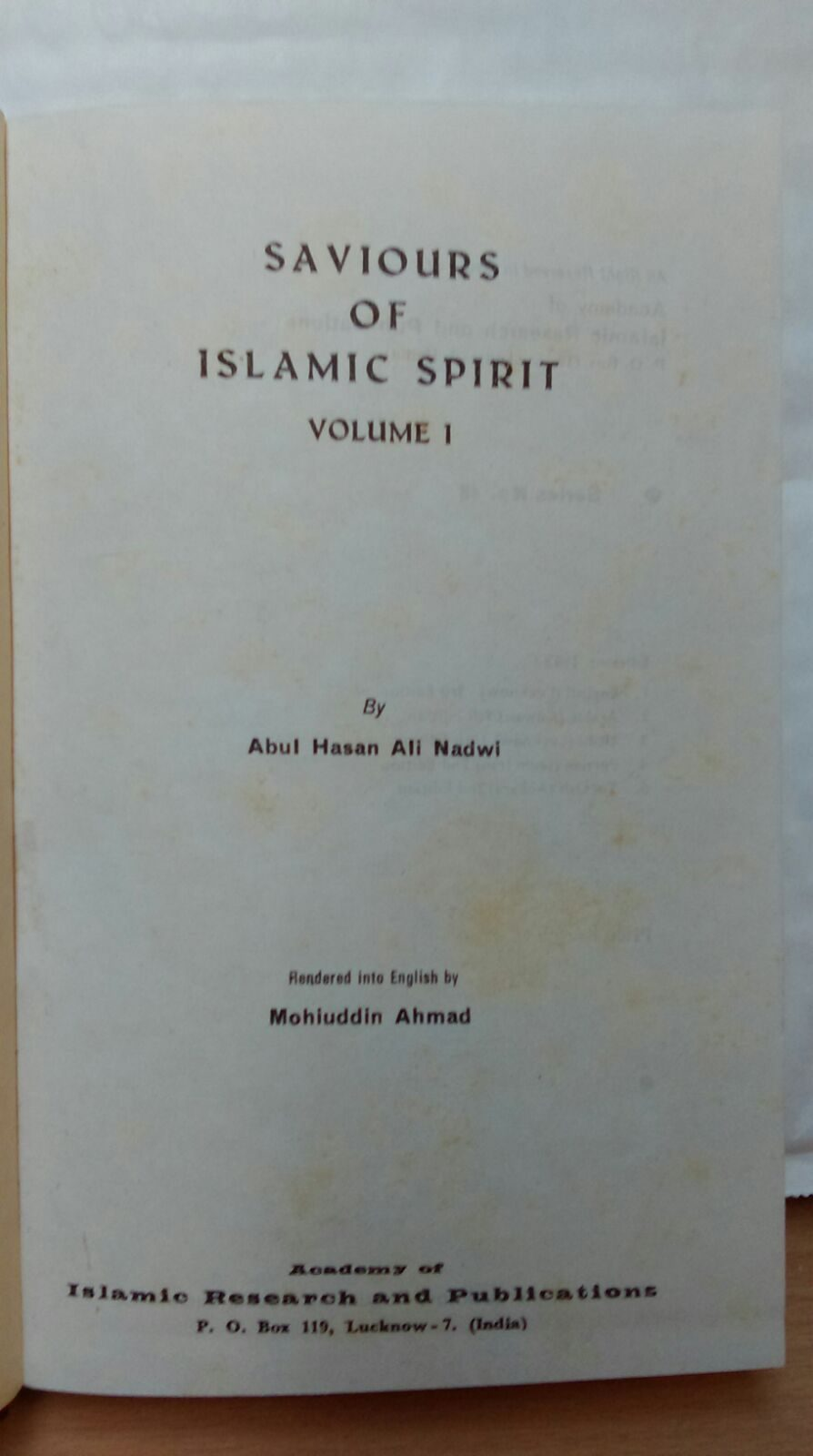 Saviours of Islamic Spirit 4