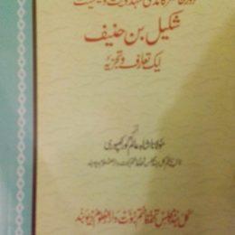 Shakeel Bin Haneef Ek Taruf Wa Tajzia