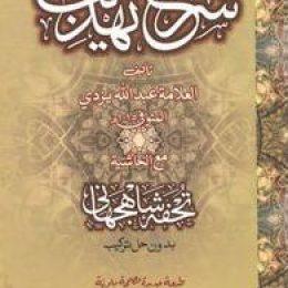 Sharah Tehzeeb