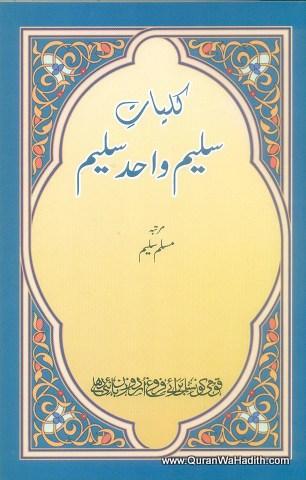 Kulliyat e Saleem Wahid Saleem – کلیاتِ سلیم واحد سلیم