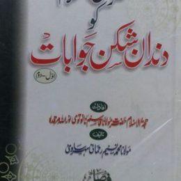 Munkireen e Islam Ko Dandan e Shikan Jawabat