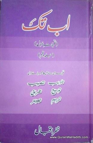 Kulliyat e Ghazal, Ab Tak, کلیات غزل, اب تک از ظفر اقبال