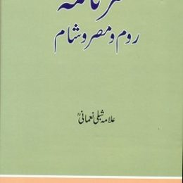 Safarnama e Room o Misr o Sham