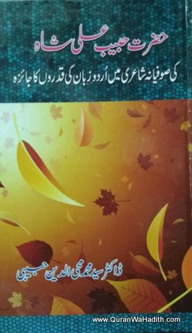 Hazrat Habib Ali Shah