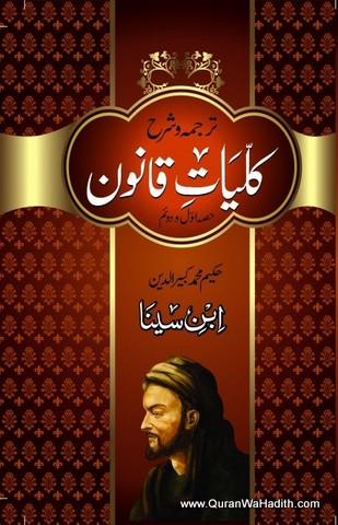 Kulliyat e Qanoon, Tarjuma wa Sharh, کلیات قانون