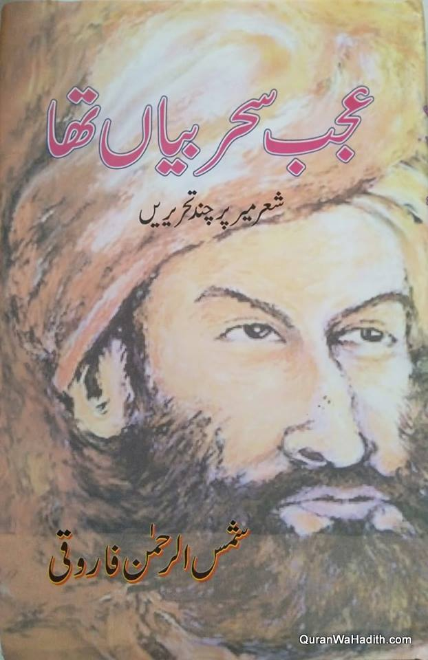 Ajab Sahar Baya Tha, عجب سحر بیاں تھا, شعر میر پر چند تحریریں