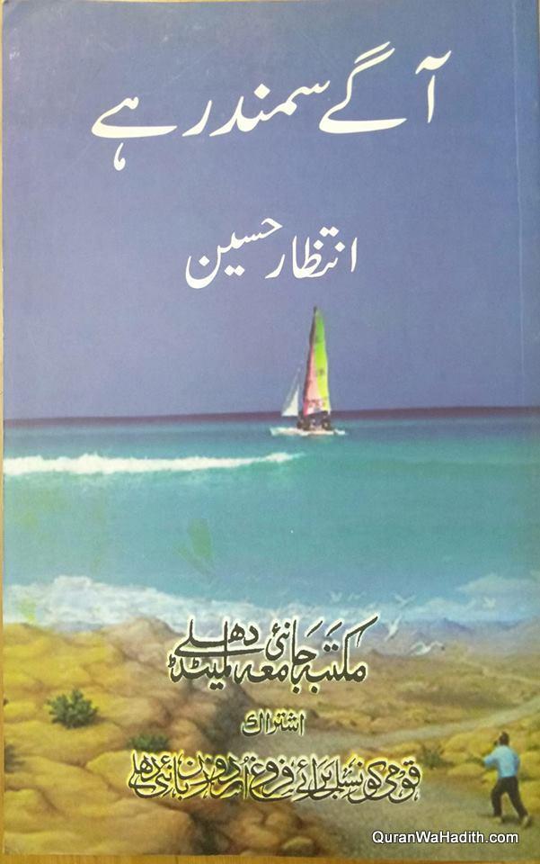 Aage Samandar Hai Novel, آگے سمندر ہے ناول