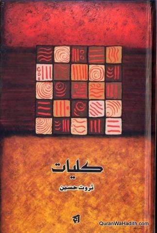 Kulliyat e Sarwat Hussain, کلیاتِ ثروت حسین