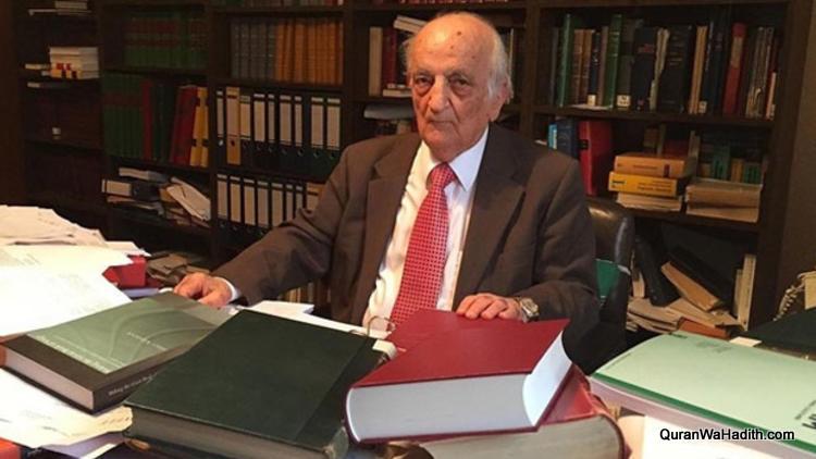 Prof Fuat Sezgin, پروفسور فواد سزگین