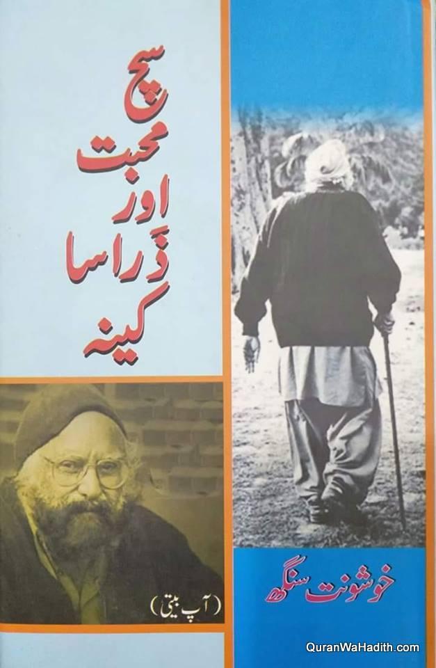 Sach Mohabbat Aur Zara Sa Kina, سچ محبت اور ذرا سا کینہ, آپ بیتی