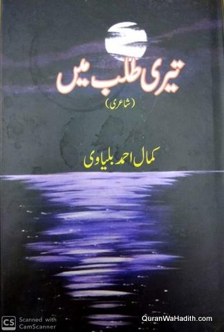 Teri Talab Mein, Shayari, تیری طلب میں شاعری