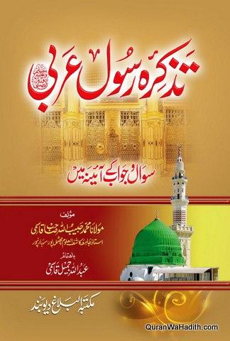 Tazkira e Rasool e Arabi, تذکرہ رسول عربی، سوال و جواب کے آئینہ میں