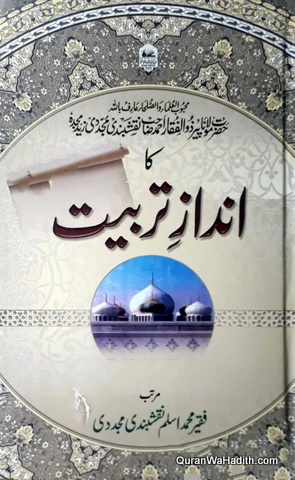 Hazrat Peer Zulfiqar Ahmad Naqshbandi Ka Andaz e Tarbiyat, حضرت پیر ذوالفقار احمد نقشبندی کا انداز تربیت