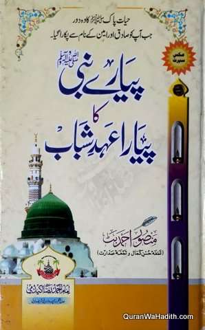 Pyare Nabi Ka Pyare Ahad e Shabab, پیارے نبی کا پیارے عہد شباب