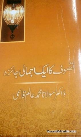 Tasawwuf Ka Ek Ijmali Jaiza, تصوف کا ایک اجمالی جائزہ