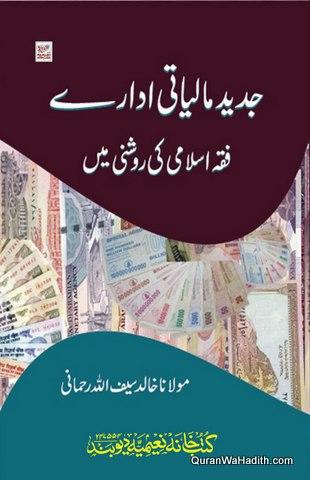 Jadeed Maliyati Idare Fiqh e Islami Ki Roshni Mein, جدید مالیاتی ادارے فقہ اسلامی کی روشنی میں