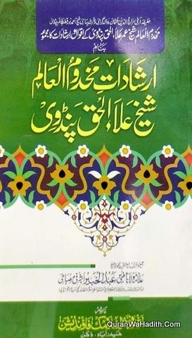 Irshadat e Makhdoom ul Alam Shaikh Alaul Haq Pandavi, ارشادات مخدوم العالم شیخ علاء الحق پنڈوی
