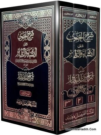 Sarah Al Hamwi Ala Al Ashbah Wan Nazair, 3 Vols, شرح الحموی علی الاشباہ و النظائر