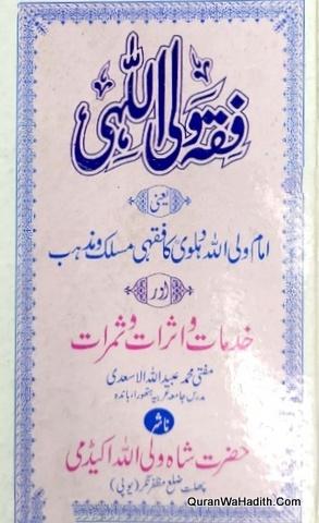 Fiqh Waliullahi, فقہ ولی اللہی خدمات و اثرات و ثمرات, امام شاہ ولی اللہ دہلوی کا فقہی مذہب و مسلک