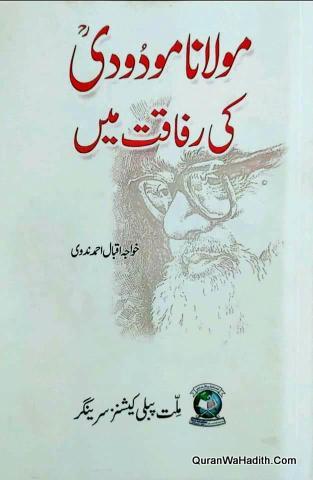 Maulana Modudi Ki Rafaqat Mein, مولانا مودودی کی رفاقت میں