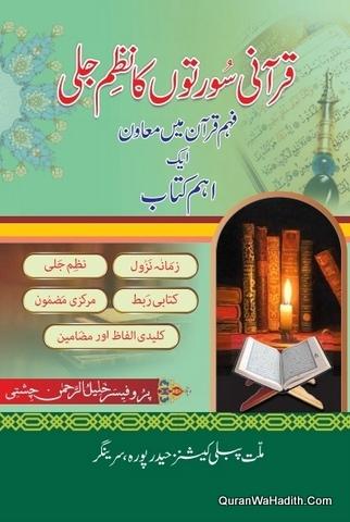 Qurani Suraton Ka Nazm e Jali, قرانی سورتوں کا نظم جلی