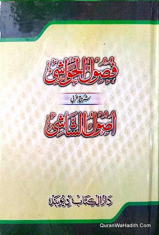 Fusool Al Hawashi Sharh Usool Al Shashi Arabic, فصول الحواشي شرح أصول الشاشي عربي
