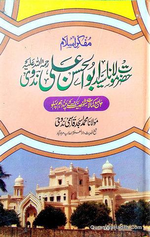Mufakkir e Islam Hazrat Maulana Abdul Hasan Ali Nadwi, مفکر اسلام حضرت مولانا سید ابو الحسن علی ندوی