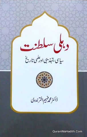 Delhi Saltanat Siyasi Tahzeeb Aur ilmi Tareekh, دہلی سلطنت سیاسی تہذیب اور علمی تاریخ