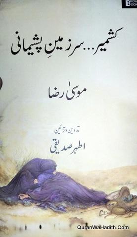 Kashmir Sar Zameen e Pashemani, کشمیر سر زمین پشیمانی