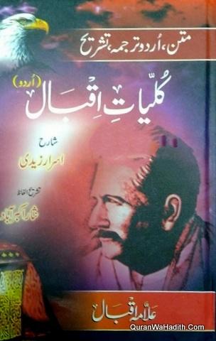 Kulliyat e Iqbal Matan Urdu Tarjuma Sharah, کلیات اقبال متن اردو ترجمہ تشریح